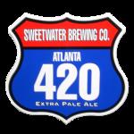 420 Road Sign Sticker