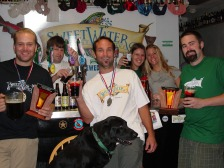 Back from GABF in 2002 with Small Brewery of the Year award