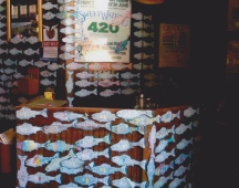 Paper fish back in the day at Tmac