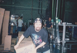 Our head brewer Nick Nock was also employee #1 - wasn't always glamorous but his shirts always have been